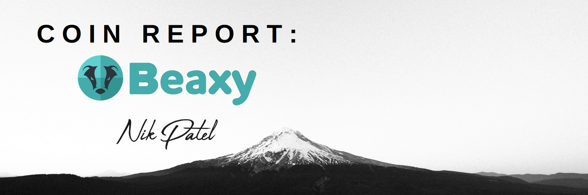 Coin Report #28: Beaxy