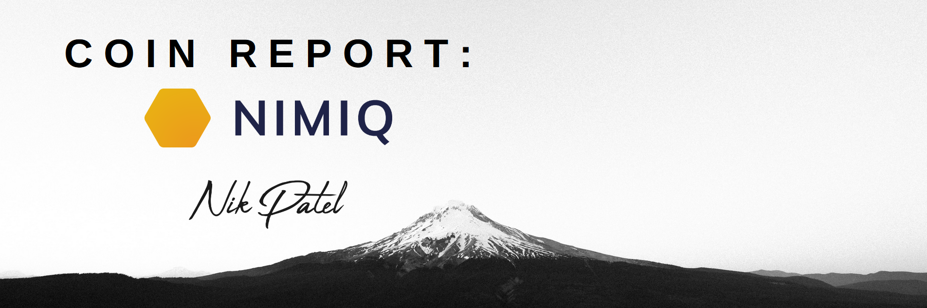 Coin Report #26: Nimiq