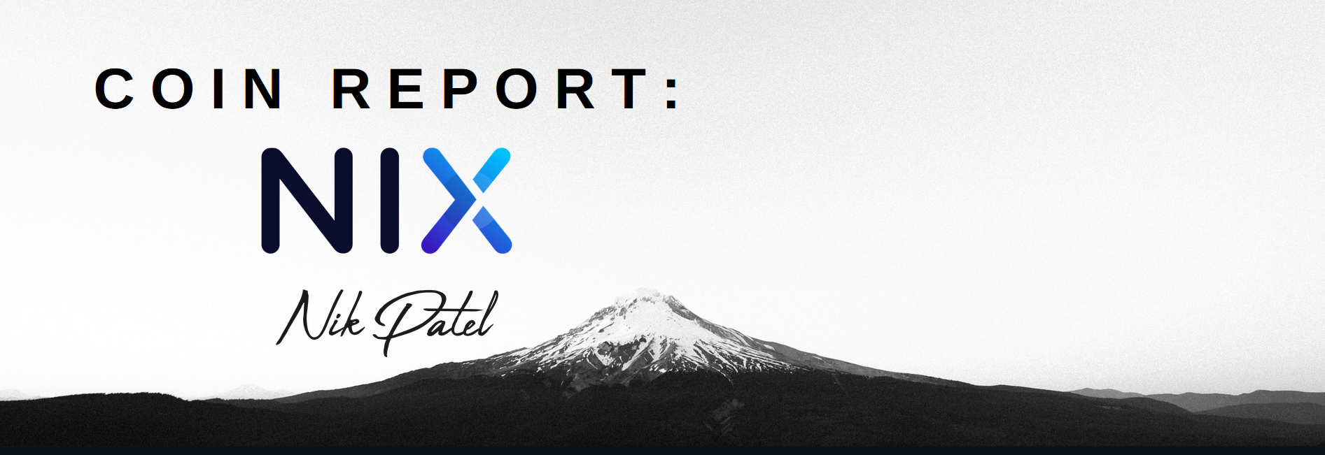 Coin Report #30: NIX – An Altcoin Trader's Blog