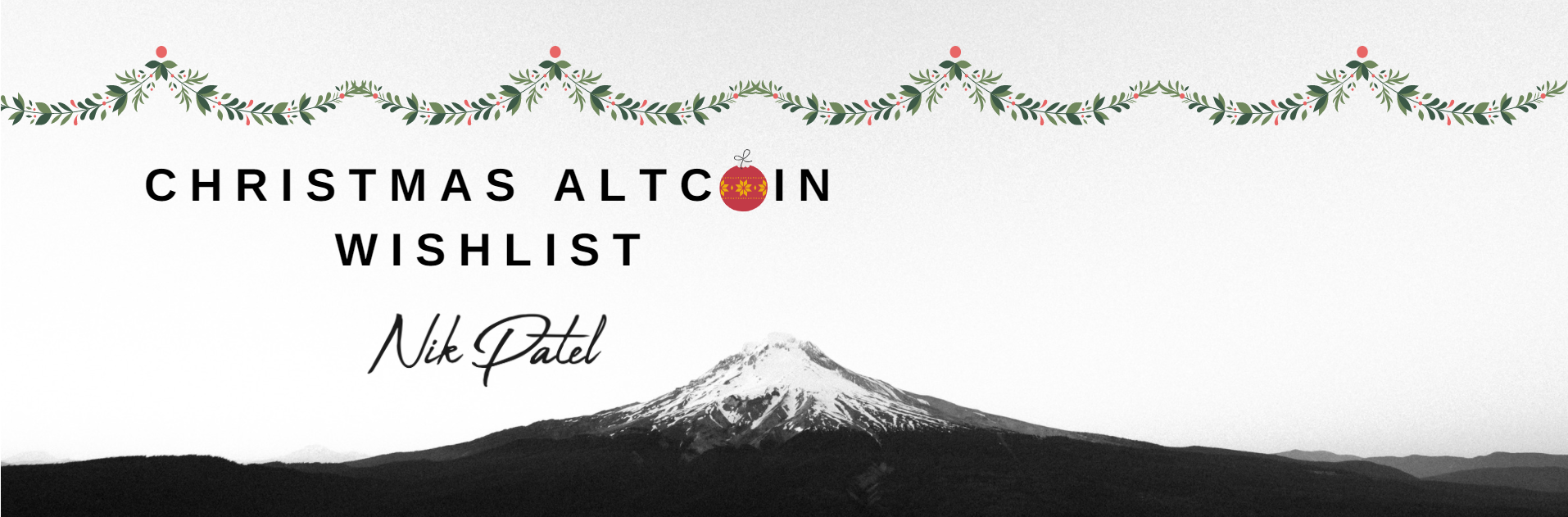 Christmas Altcoin Wishlist: 82 Altcoins That I'm Paying Attention To
