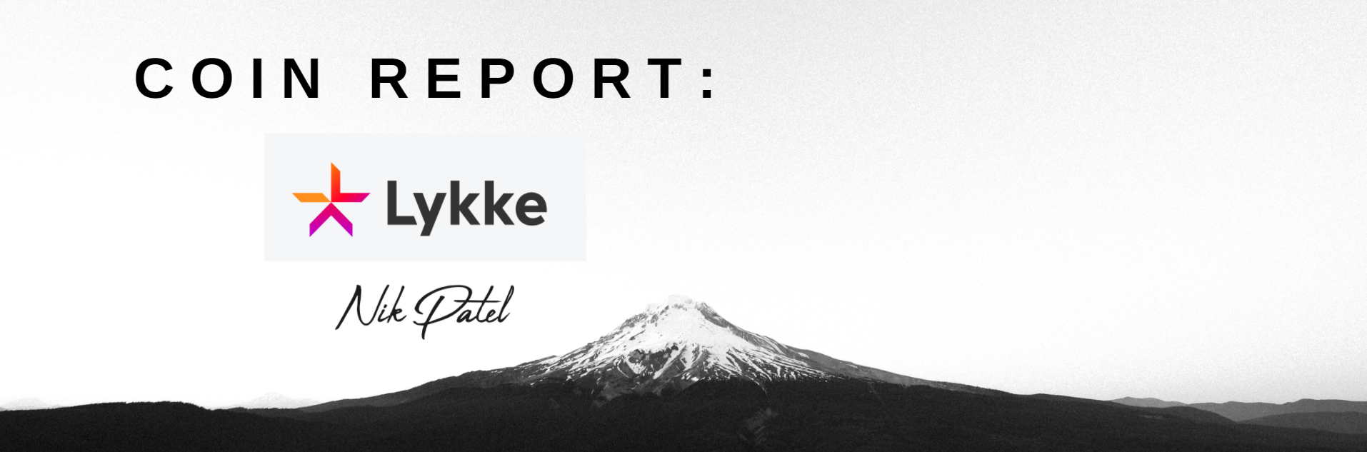 Coin Report #41: Lykke