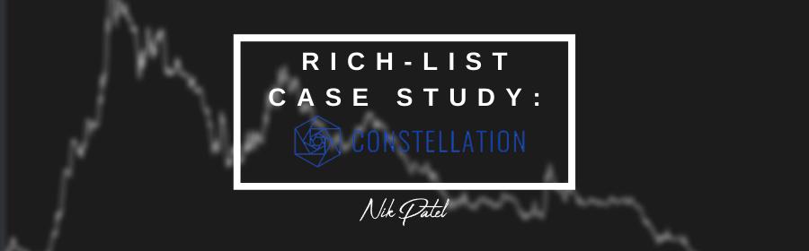 Rich-List Case Study: Constellation #2