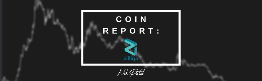 Coin Report #44: Zilliqa