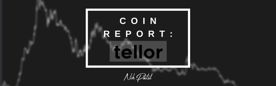 Coin Report #47: Tellor