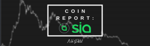 Coin Report #60: Siacoin