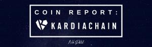 Coin Report #61: KardiaChain