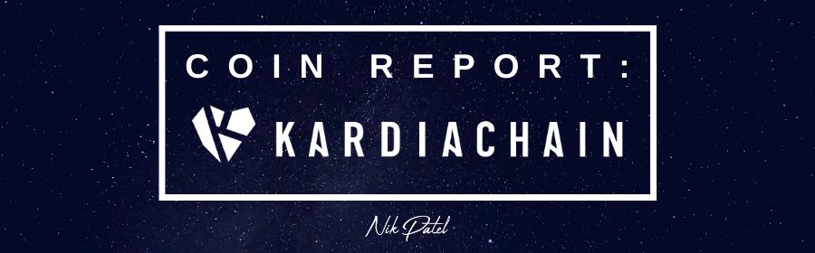 Coin Report #72: KardiaChain
